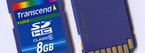 Classe 4, classe 6, classe 10, SD, SDHC… Qual cartão de memória escolher?