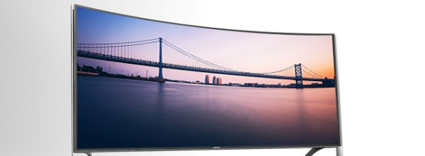 Qual é o sentido dos televisores curvos?