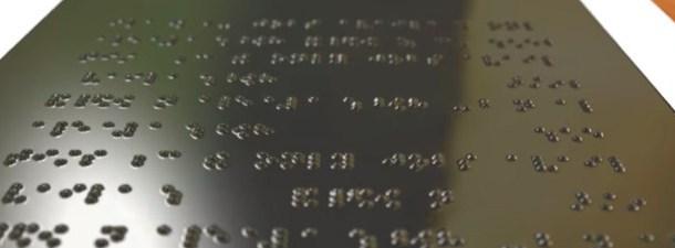 Uma tela em braile para mostrar gráficos e tabelas a pessoas cegas