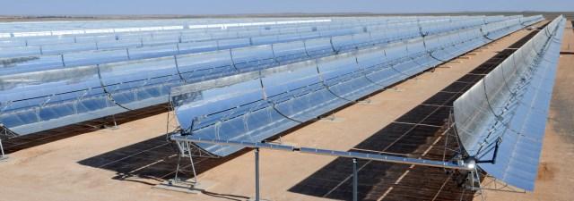 Esta é a usina solar gigantesca que está sendo construída no Marrocos