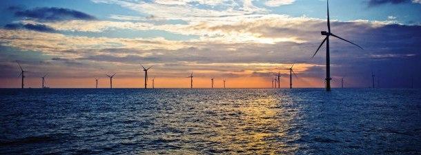 O maior parque eólico marinho do mundo está na costa de Kent, Inglaterra