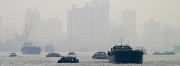 China planeja usar canhões de névoa para minimizar os efeitos nocivos da contaminação
