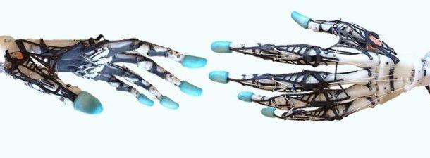 O funcionamento da mão robótica mais humana