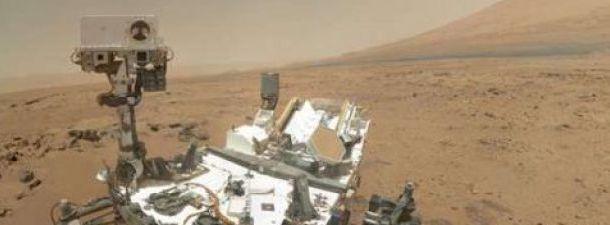A superfície de Marte em 360º