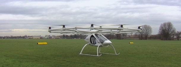 Multicópteros elétricos. O futuro do transporte urbano