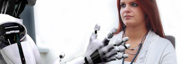 Os humanos também mandam robôs para o olho da rua
