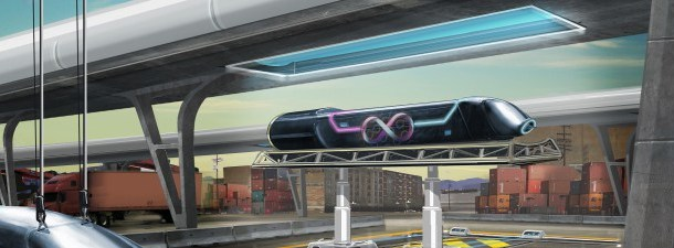 Hyperloop One com as miras postas no transiberiano