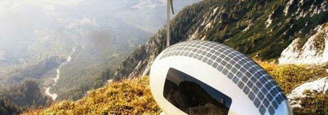 Viver em qualquer lugar do mundo em uma cápsula solar