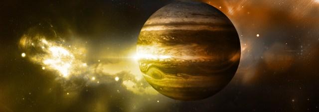 A sonda Juno visita Júpiter para descobrir seus segredos