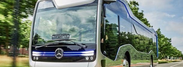 O ônibus do futuro está muito presente