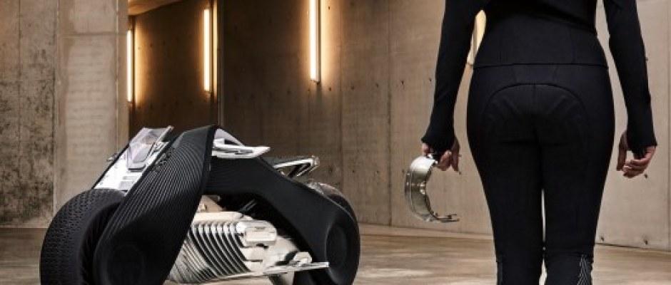 A moto da BMW que não vai precisar de capacete